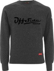 Grijze Freestyler .. Sweater Slim Fit Gray Granite - Maat M - Off Side - incl. Gratis rugzak