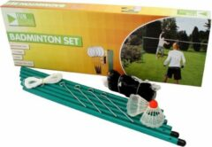 Groene Huishoudkado.nl Badminton set