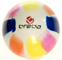 Brabo SM Ball - Veldhockeybal - Wit/ Roze/ Geel