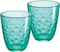 Luminarc Concepto Bulle Pepite Groen Waterglazen 31 cl - Glas - (Set van 6) En Yourkitchen E-kookboek - Heerlijke Smulrecepten