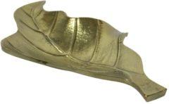 Gouden Mars & More Aluminium Schaaltje Blad Banaan (36 x 18 cm)