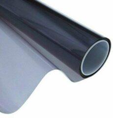 Zwarte Dunlop getinte raamfolie - ramen rinten - autoruit tinten - tuning - zelfklevend - 300x76 cm - zonwerend