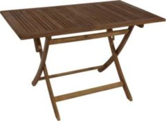 Gardenhome GARDENho.me Klapptisch Bangu Tisch Gartentisch ca. 120 x 70 cm Akazienholz, geölt