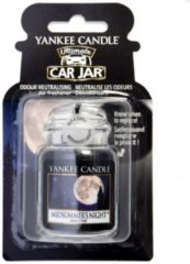 Zwarte Yankee Candle Midsummers Night Car Jar Ultimate