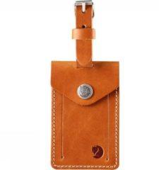 Fjällräven Fjallraven Leather Luggage Tag Bagagelabel - Leather Cognac