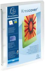 Exacompta Ringmap 4 ringen 15mm polypropyleen chromaline 5/10de Krea Cover - A4 (51968E)