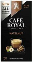 Café Royal Hazelnut koffie cups koffiecapsules 10 stuks hazelnoot