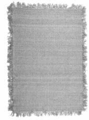 Licht-grijze By-Boo Vloerkleed 'Woolie' 200 x 290cm, kleur Lichtgrijs