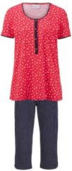 Schlafanzug Ringella rot/marine/weiß