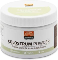 Mattisson Colostrum powder poeder 30% IgG 125 Gram