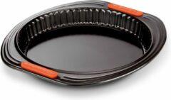 Zwarte Le Creuset Patiliss bakvorm met uitneembare bodem 26 cm