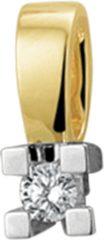 Goudkleurige The Jewelry Collection Hanger Diamant 0.05ct H Si - Bicolor Goud