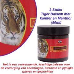 Pullach hof 2-Potten Tiger Balsem met kamfer en Menthol (50ml)