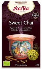 Yogi Tea Yogi Thee Sweet Chai Voordeelverpakking