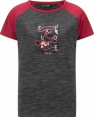 Roze Life-Line Crich T-Shirt - Dames Outdoor Shirt - Sneldrogend Strech Shirt