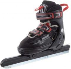 Zwarte Zandstra Oslo Junior - Norenschaats - Verstelbaar - Maat 35-38