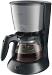 Philips koffiezetapparaat koffie-automaat Basic, zw/RVS, uitvoering kan glas