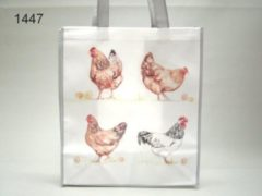 Grijze Geharo Boodschappentas kippen