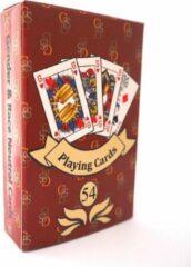 GSB genderneutrale speelkaarten - Signature Rood - enkel pak in tuckbox