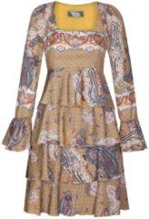 Bezauberndes Kleid HELENA mit eleganten Volants Nicowa SAFFRON PAISLEY
