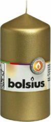 Goudkleurige Bolsius Stompkaars 120/60 Goud