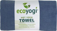 Ecoyogi Hot yoga handdoek - blauw