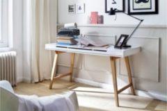 Baidani Designer Schreibtisch Dagita mit Schubfächern