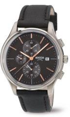 Groene Boccia Titanium Boccia 3756-02 horloge heren - bruin - titanium