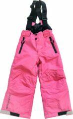 Roze Ducksday skibroek met bretellen voor kinderen meisje Rose