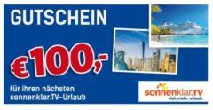 Sonnenklar.TV Reise-Gutschein 100 €