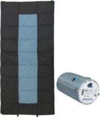 10-T Outdoor Equipment 10T Brodie XXL Camping Schlafsack bis -13°C Outdoor Deckenschlafsack 200x100 cm Hüttenschlafsack mit 2000g Trekking Reiseschlafsack für 3 / 4 Jahresze