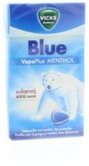 Vicks Blue menthol suikervrij box 40 Gram