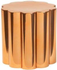 Roze Beekwilder LVT Florero plantenbak, metaal, kan ook als opbergbak gebruik worden
