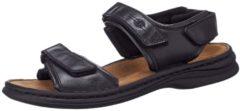 Josef Seibel RAFE - Heren Heren sandalen - Kleur: Zwart - Maat: 39