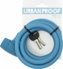 URBAN PROOF Kabelslot - 150 cm - Jeans Blauw