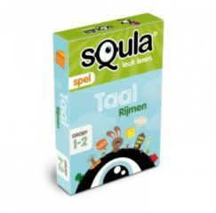 Kaartspel sQula - Taal - Rijmen - Educatief spel Identity Games