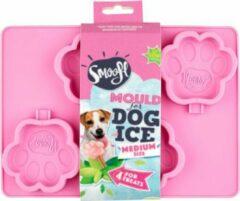 Roze Smoofl ijsjesvorm M