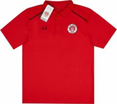 Rode Polo FC St-Pauli Under Armour maat L