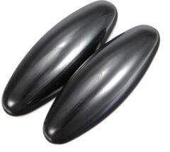 Zwarte Geeek Zingende Magneten - Rattle Snake Eggs - Ovaal