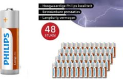Phillips Philips Longlife Batterijen - 48-pack - AAA - Voordeelverpakking AAA Batterijen