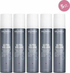 5X Goldwell StyleSign Power Whip Mousse 300ml