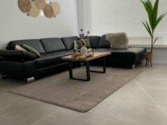 EB Commerce Vloerkleed Laagpolig - Beige 170x230