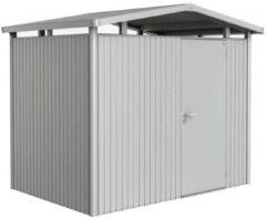 Biohort Panorama® P4 zilver metallic 1 deurs - 273 x 278 x 227 cm