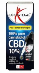 Lucovitaal CBD Cannabidiol olie 10% Supplement - 5 ml