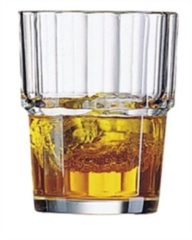 Transparante Arcoroc Arc International Norvege Tumbler - Hardglas - 0.20 l - 6 stuks