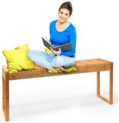 Relaxdays Sitzbank aus Bambus