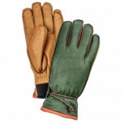Hestra - Wakayama 5 Finger - Handschoenen maat 6, olijfgroen/bruin