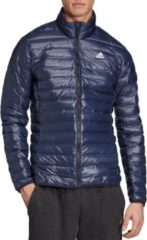 Marineblauwe Adidas Varilite Jacket Heren Sportjas - legend ink - M