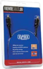 Sweex Firewire Cable 6P/6P 3M 3m firewire-kabel