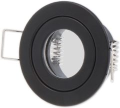 Ledin LED line Inbouwspot - Rond - Waterdicht IP44 - MR11 Fitting - Ø 55 mm - Mat Zwart